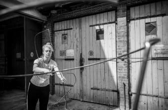 Atelier-Besuch bei Kalin Lindena